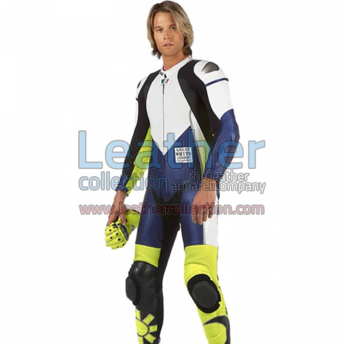 VR46 Racing Leather Suit