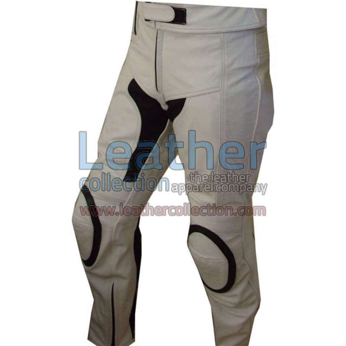 White Motorcycle Pants