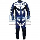 Yamaha R Racing Leather Suit Blue