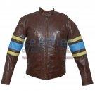 X-MEN Wolverine Origins Biker Leather Jacket