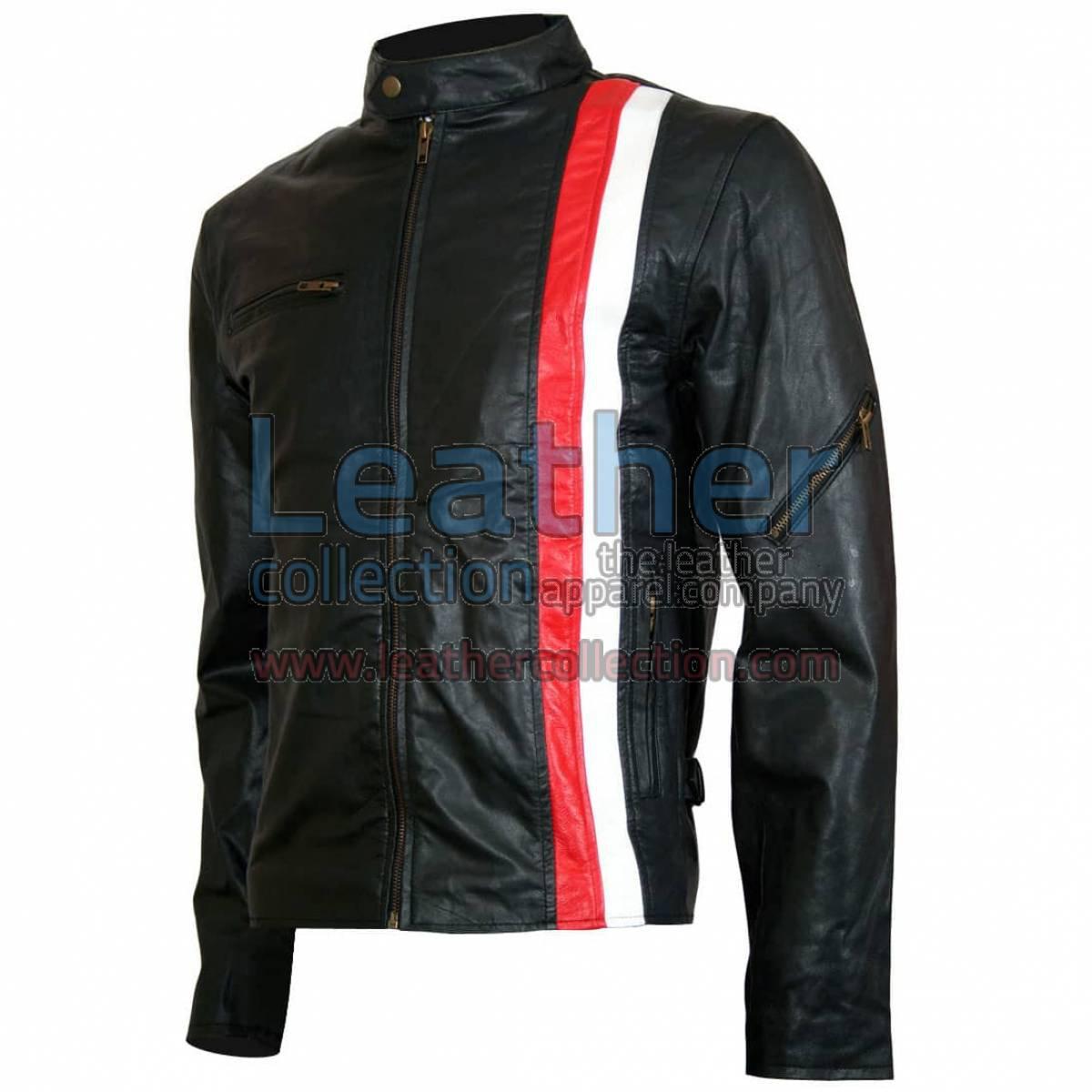 X-Men Cyclops Biker Style Leather Jacket