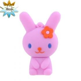 Cute Rabbit USB 2.0 Flash/Jump Driver(8GB)