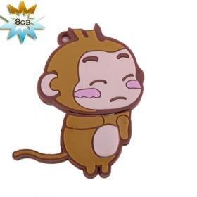 Cute Monkey USB 2.0 Flash/Jump Driver(8GB)