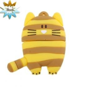 Striped Cat USB 2.0 Flash/Jump Driver(8GB)