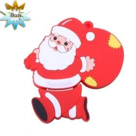Santa Claus USB 2.0 Flash/Jump Drive(8GB)