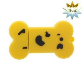 Bone Shaped USB 2.0 Flash/Jump Drive (8GB)