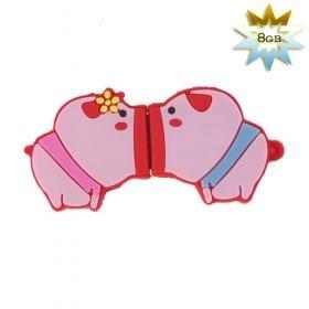 Cute Pig USB 2.0 Flash/Jump Drive (8GB)