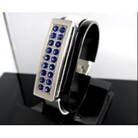 Wristband Blue USB Drive 8G