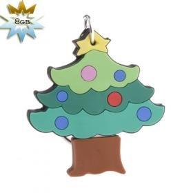 Christmas-Tree USB 2.0 Flash/Jump Drive (8GB)