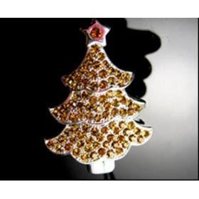 Christmas Tree-Golden USB Drive (8G)