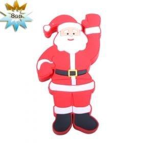 Santa Claus USB 2.0 Flash/Jump Drive(8GB)