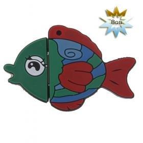 Fish Shaped USB 2.0 Flash/Jump Drive (8GB)