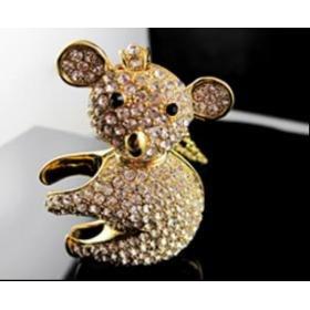 3D Koala-Golden USB Drive (8G)