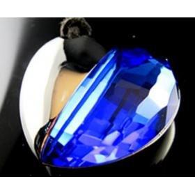 Crystal Heart Blue USB Drive USB Drive 8G