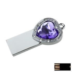Cupid's Amethyst Jewelry USB Flash Drive(8GB)