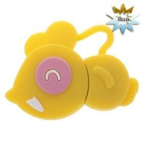 Cute Mouse USB 2.0 Flash/Jump Drive (8GB)