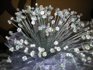 Med. Beads bridal bouiquet