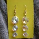 Ab cristal earrings