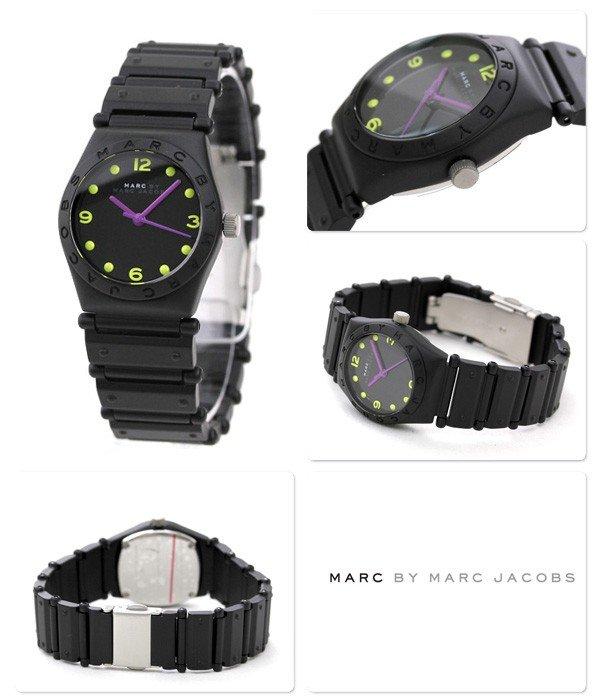 Marc Jacobs Jorie Small Aluminum Watch Black MBM3512
