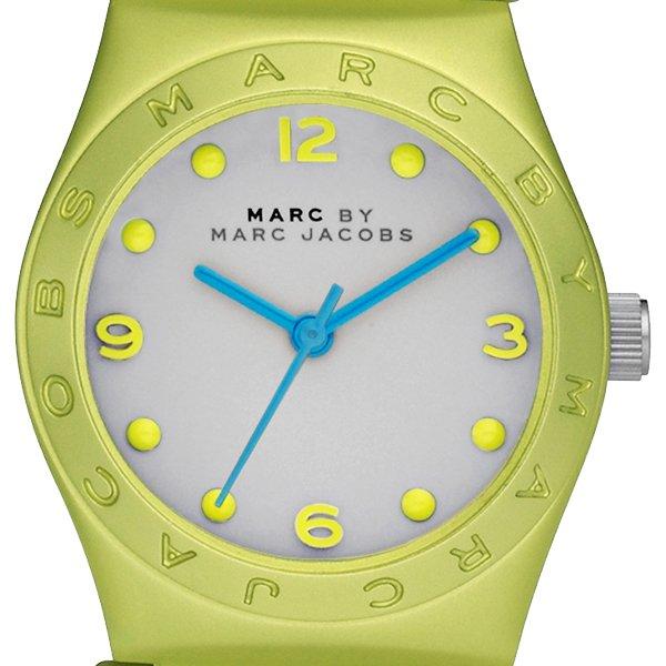 Marc by Marc Jacobs Mini Jorie Aluminum Analog Watches Yellow MBM3508