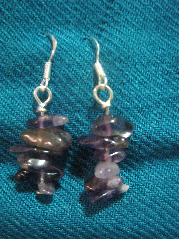 Natural Amethyst Earrings