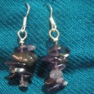 Natural Amethyst Earrings