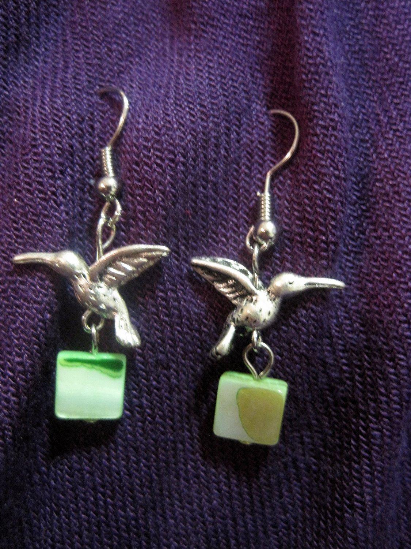 Humingbird Shell Earrings