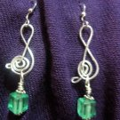 Green Glass and Treble Clef