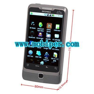 Star A5000 dual sim google android 2.2 GPS TV smart phones