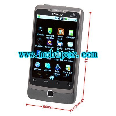 Star A5000 multi-touch dual sim google android 2.2 GPS TV smart phones