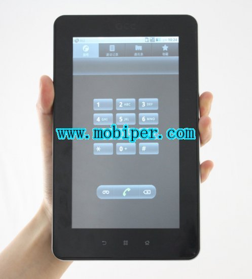 Callpad cell phone GPS WIFI 3G android 2.2 table PC
