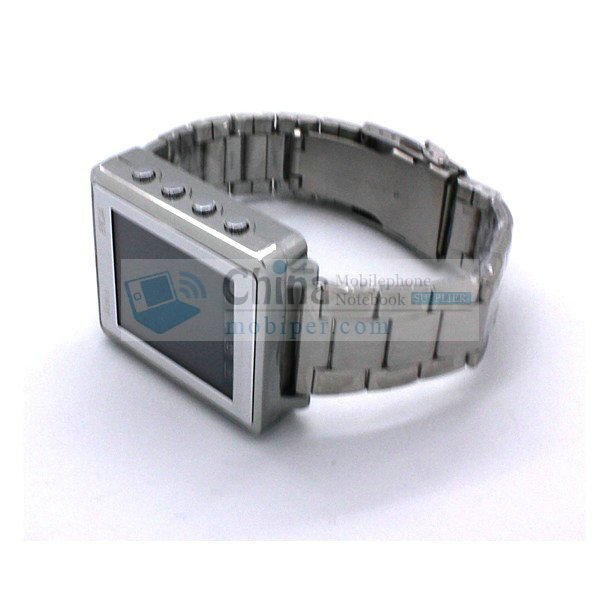 Aoke 810A Metallic Watch Phone Touch Screen Bluetooth