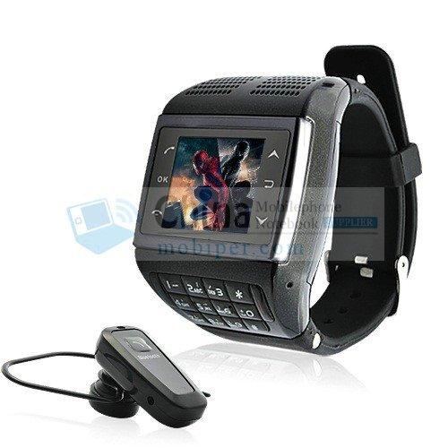 AVATAR ET-3 Dual SIM Card Watch Mobile Phone Multimedia Bluetooth Quad Band Touchscreen