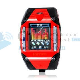 F3 1.3 Inch Touch Screen Tri Band Watch Phone with Camera /MP3 /MP4