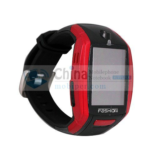 F6 Music Watch Phone Quad Band Camera Bluetooth Touch Screen