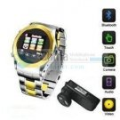 MQ999 Watch Phone Quadband 1.5 inch Touch Screen with SPY Camera FM Bluetooth