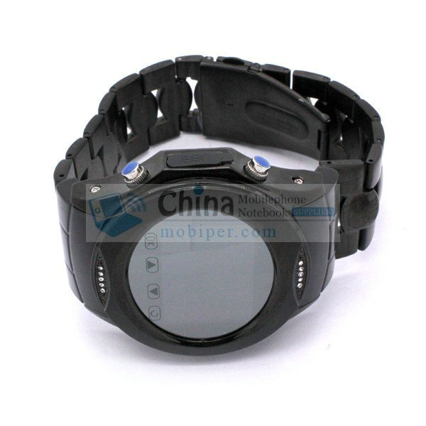 Nice Stainless Steel W950 Watch Phone Quadband Touch Screen Multimedia Player