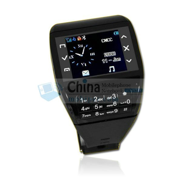 Q8 Camera Watch Phone with Dual Card Touch Screen Numeric Keypad