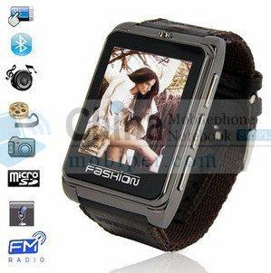 S9120 ultra Thin fashion phone watch quadband 1.8 inch touch camera single SIM bluetooth