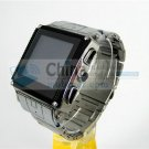 W818 waterproof java watch phones Stainless Steel housing