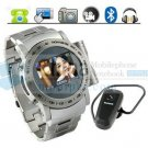 Watch CellPhone W980 with Steel house and Camera Expand Memory