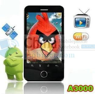 A3000 Android 2.2 Smart Phone 3.3 Inch dual sim A-GPS