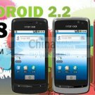 ANDROID A8 DUAL SIM WIFI TV DUAL CAMERA 2MP GOOGLE ANDROID 2.2 G-SENSOR