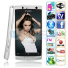 x12 android 2.2 dual sim GPS WIFI TV smart phones silver version