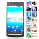 x12 android 2.2 dual sim GPS WIFI TV smart phones black  version