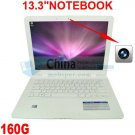A80 13.3inch Mini Netbook Laptop Notebook 160GB HD Wifi Window 7/XP