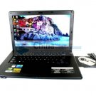 K70 14 Inches Laptop Intel Atom D525 1.8GHz 1GB Memory 160GB webcam DVD-RW