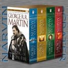 A Game of Thrones 4-Book Boxed Set (A Song of Ice and Fire) [Paperback] by George R. R. Martin