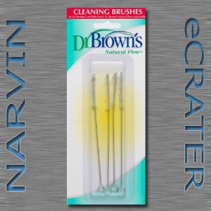 Dr. Brown's Natural Flow Cleaning Brush, 4 Pack