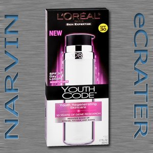 L'Oreal Youth Code Regenerating Skincare Day Lotion, SPF 30, 1.7-Fluid Ounce (LOreal)